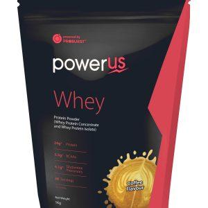 Powerus Whey Protein 1 kg Coffee