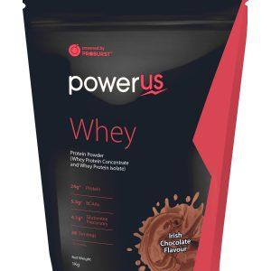 Powerus Whey Protein 1 kg Irish chocolate